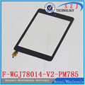 "Original 7.85"" inch Tablet F-WGJ78014-V2-PM785 F-WGJ78014-V2 Capacitive Touch screen panel Digitizer Glass Sensor Free Shipping"