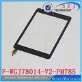 """Original 7.85 """"pulgadas Tablet F-WGJ78014-V2-PM785 F-WGJ78014-V2 Capacitiva pantalla Táctil digitalizador del Sensor de Cristal Envío Gratis"""