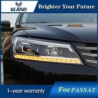 HID фары для Volkswagen Passat фара B7 США Версон