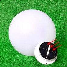 Светодиодный светильник на солнечной батарее IP65 Водонепроницаемый Открытый 16 цветов изменяющийся плавающий светильник для бассейна
