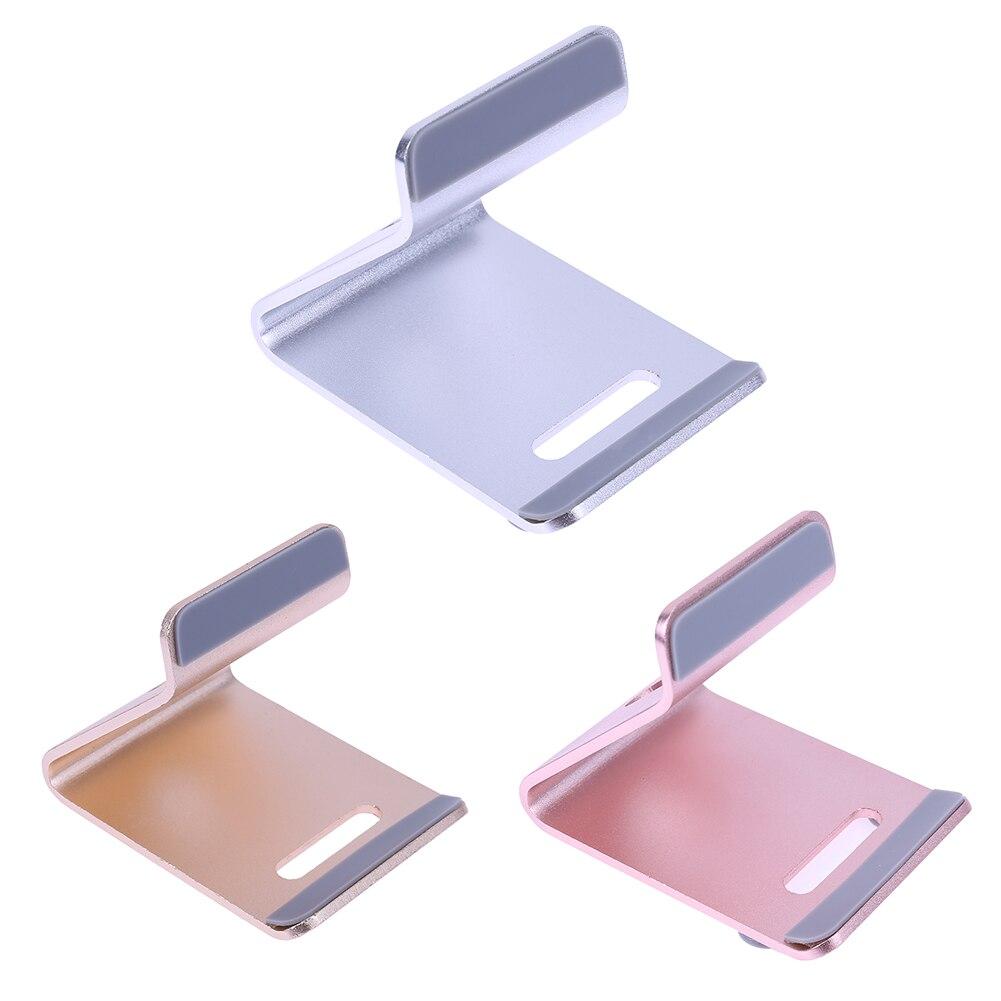 Универсальный алюминиевый держатель мобильного телефона подставкой стол держатель подставки для iPhone Samsung смартфон Tablet PC