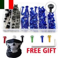 Motorcycle accessories aluminum fairing bolts Screws kit for honda fit msx 125 shadow 600 cr 250 cbr 600 rr