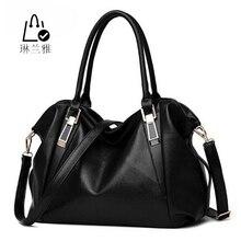 Women fashion leisure Hobos shoulder bag lady high quality leather messenger bag pure color elegant handbag  Crossbody Bags Z-32