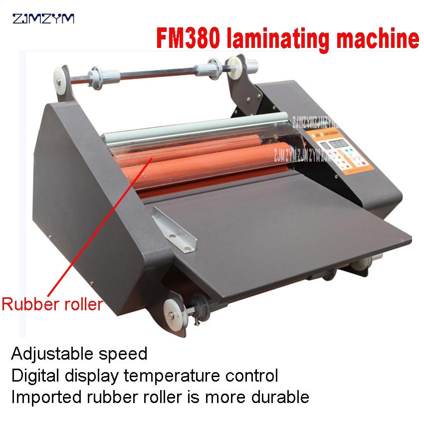 FM-380 popieriaus laminavimo mašina, studentų kortelė, darbuotojo - Biuro elektronika - Nuotrauka 2