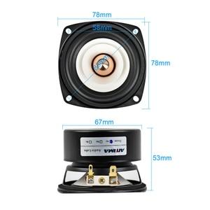 Image 5 - AIYIMA 2Pcs 3Inch Mini Audio Portable Speakers 4Ohm 8Ohm 15W Full Range Hifi Bass Speaker Altavoz Portatil Speaker DIY