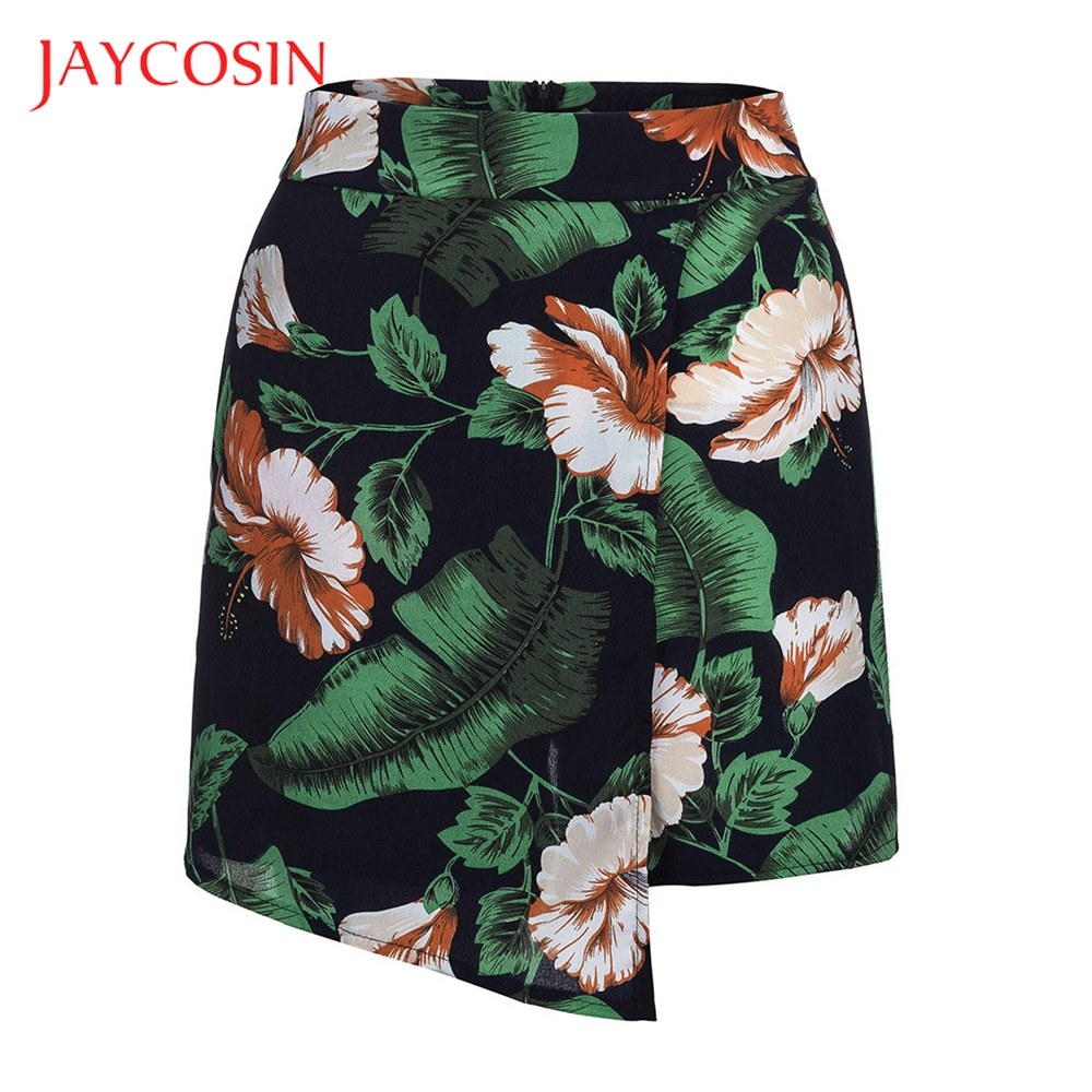 JAYCOSIN Women Floral Hot Pants  Plus Size Summer Shorts High Waist Beach Sports Pants Very Cool To Wear High Quality