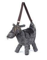 Gorące Zwierząt torba Kreatywny 3D Pony Osioł Kształt Konia Kobiet Torba na ramię kobiety messenger Torby podróżne torby Spakować mochila bolsos mujer