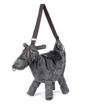 Heißer tierbeutel Kreative 3D Pony Esel Pferd Form Weibliche Umhängetasche frauen messenger Taschen reisetasche Packen mochila bolsos mujer