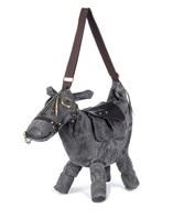 Hot saco Animal Creative 3D Pônei Burro Cavalo Forma Feminino Saco de ombro das mulheres Sacos do mensageiro saco de viagem Pacote bolsos mochila mujer