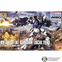 OHS Bandai HG Origin 010 1/144 RX 78 01 N Gundam Local Type Mobile Suit Assembly Model Kits oh