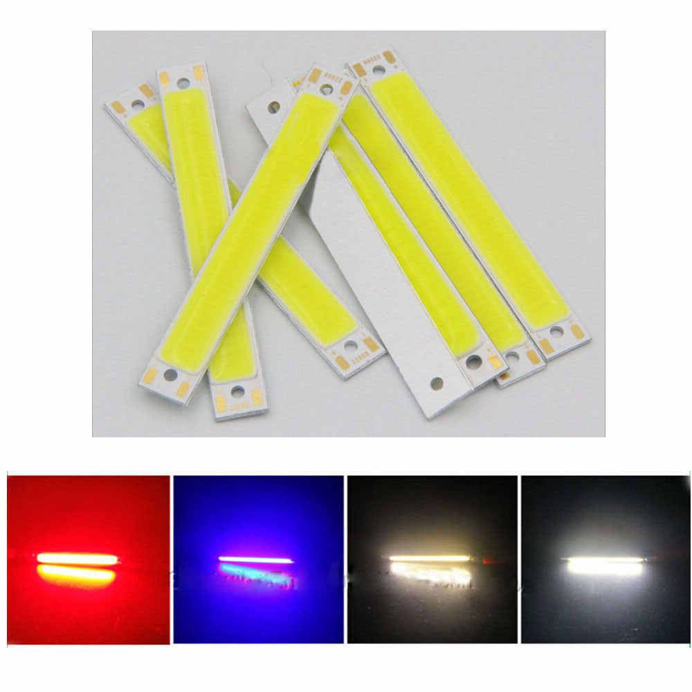 COB Chip Light LED Panel Strip 3W/1W 3V Eco-Friendly High Brightness Source Spotlight Floor Lights DIY