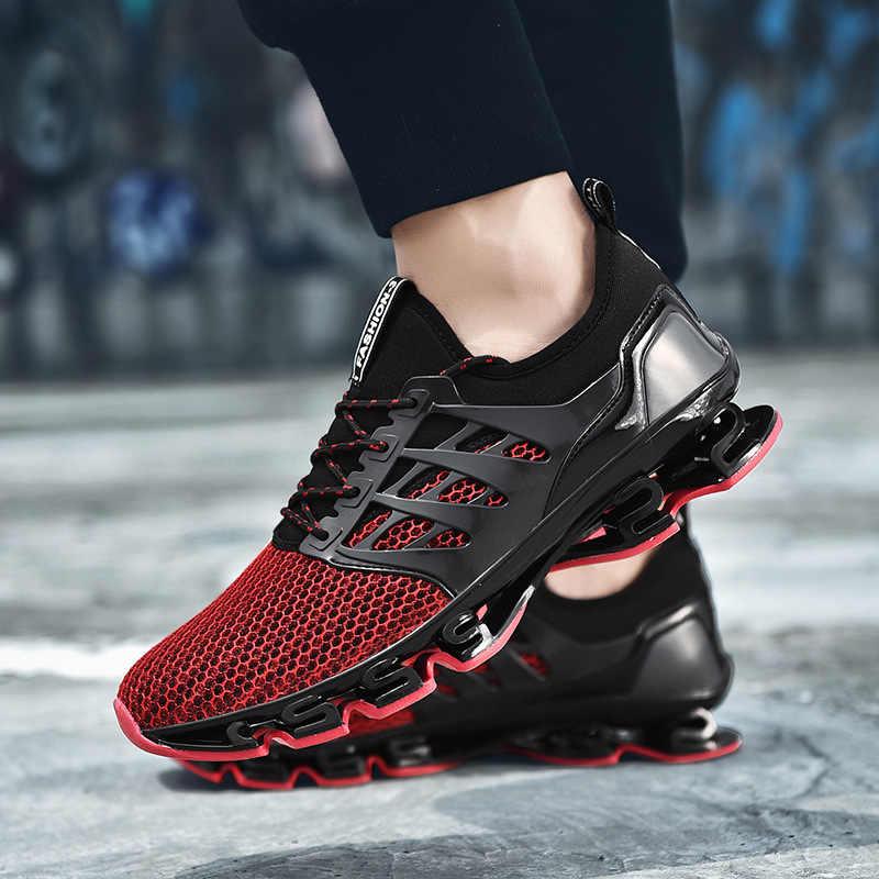 Reetene/Новинка 2019 года; сезон весна; мужская обувь на шнуровке; мужская повседневная обувь; легкие удобные дышащие Прогулочные кроссовки; Feminino Zapatos