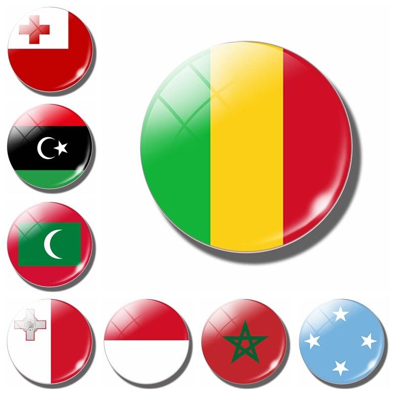 Флаг Мали 30 мм магнит на холодильник флаг Микронезии Тонга Мальты Марокко Мальдивы Флаг Мали Монако магнитные наклейки на холодильник домашний декор