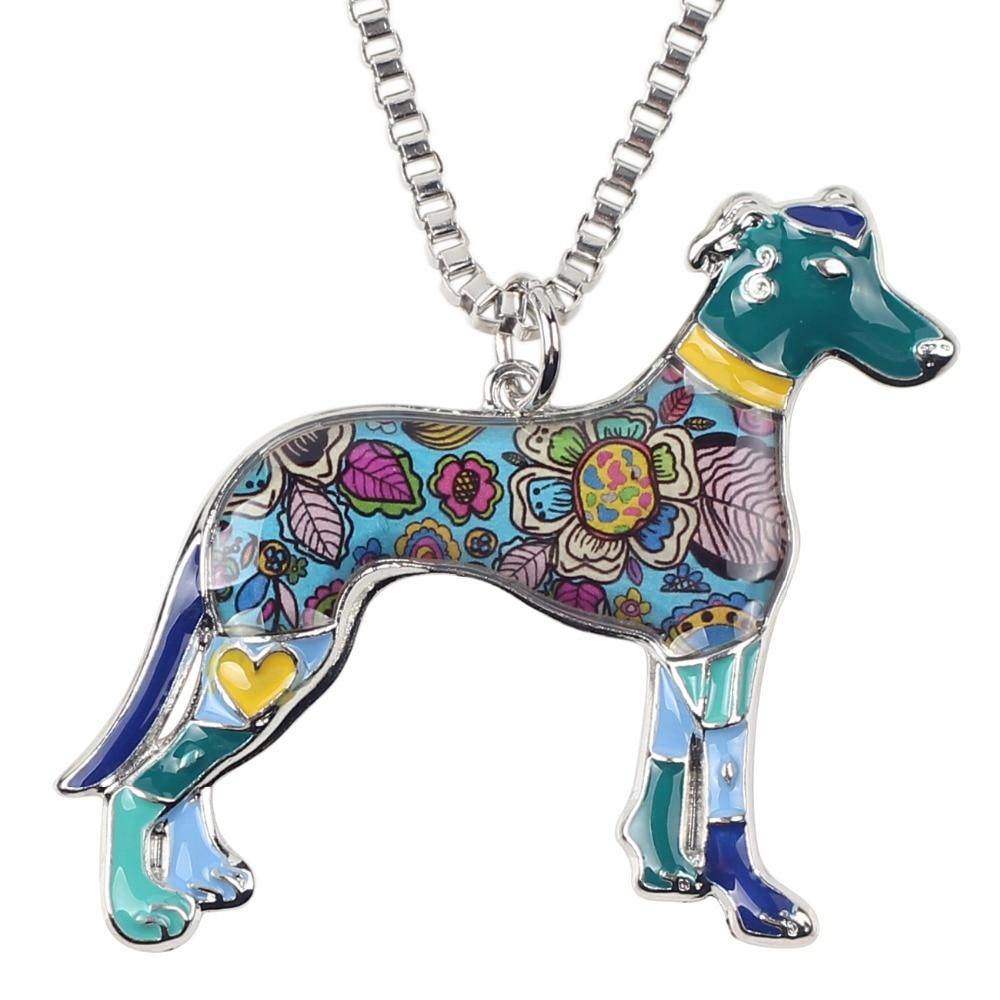 Bonsny Maxi Izjava Metalne legure galije Greyhound Dog Nakit Choker - Modni nakit - Foto 2