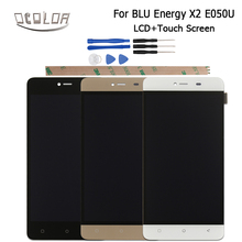 Ocolor For Blu Energy X2 E050U Power Rage LCD Display and Touch Screen Original Screen Digitizer Assembly 5.0inch  +Tools