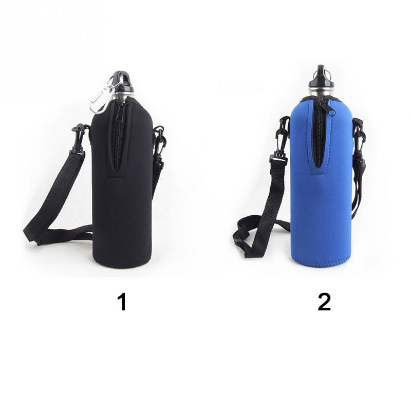 Details about  /New Outdoor Climbing Journey Water Bottle Shoulder Carrier Insulated Cover Bag