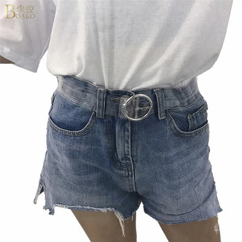 BOAKO Fashion Transparent Women Belt Clear Pin Buckle Wide Waist Bands Plastic PVC Strap Waistband Invisible Punk Waist Belt цена 2017