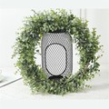 195 cm falso eucalipto guirlandas plantas artificiais folhas videiras verde guirlanda casamento pano de fundo casa mesa arco decoração