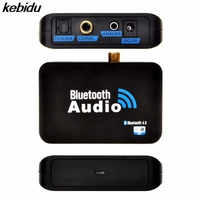 Brand New 3 5mm Output Audio Cable Bluetooth 4 0 Audio Receiver Wireless Music Receiver Digital