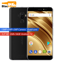 Ulefone S8 Pro Smartphone Dual Cameras Mobile Phone 5.3 inch HD MTK6737 Quad Core Android 7.0 2GB+16GB Fingerprint ID Cellphone