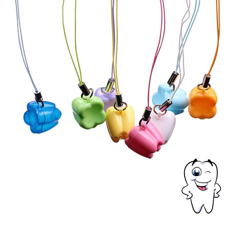 Boxes Container Collecting Childhood-Souvenir Teeth-Box Save Tooth-Shape Mini Cute Kid