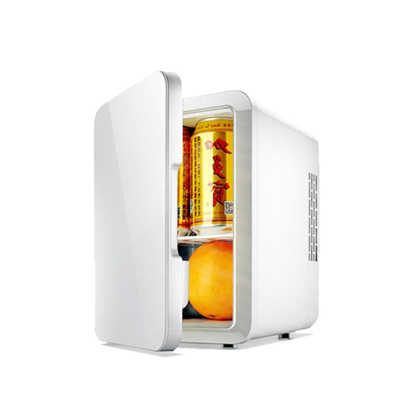 Portable 4L Mini Car Fridge Refrigerator 12V / 220V Dual Car Home Cold Warm Freezer Mini Frigo Nevera Icebox  Buzdolab Frigobar