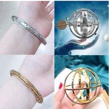 2019 New Trendy Astronomical Ball Bracelet for Women Couple Lover Bangle Opening Bracelets