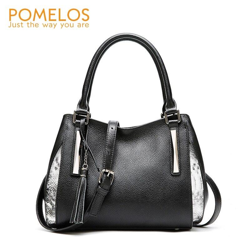 POMELOS Для женщин сумка моды Crossbody сумки для Для женщин из натуральной кожи роскошные Брендовая Дизайнерская обувь сумка кошелек и сумки для Д...
