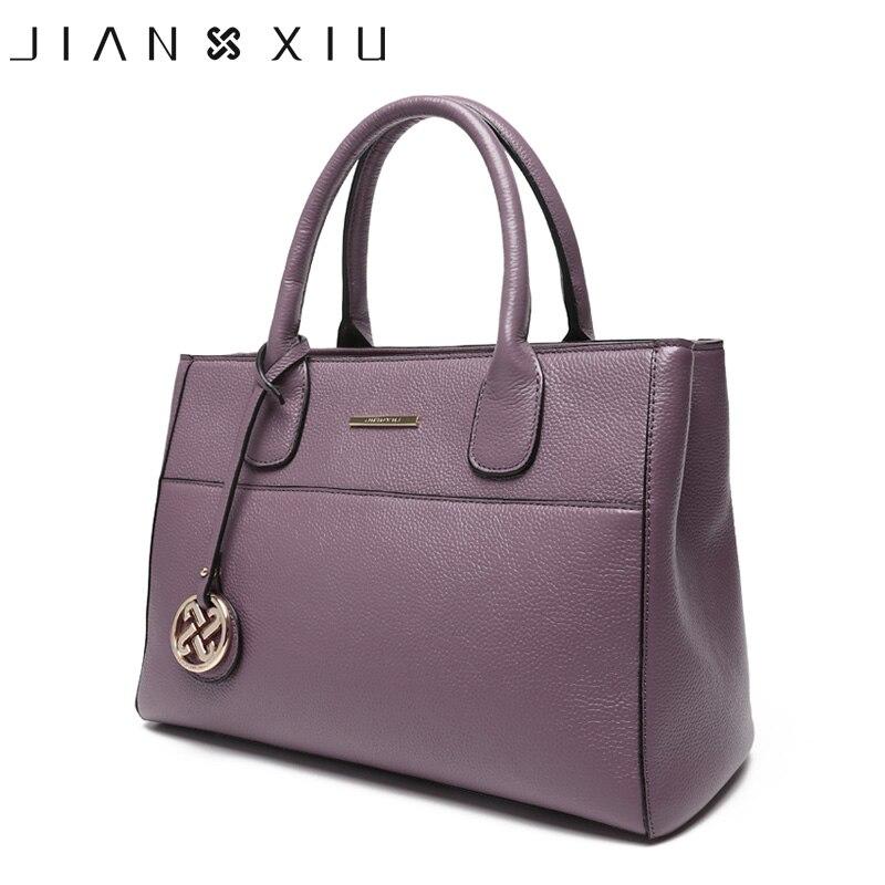JIANXIU Brand Genuine Leather Handbag Bolsa Feminina Luxury Handbags Women Bags Designer Sac a Main Female