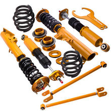 2pcs  control arms 4pcs Coilover Suspension Shock Absorber Strut Kit for BMW M3 E36 3 Series 318i 318is 318ic Sedan Coupe 325i