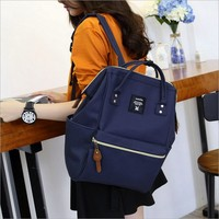 NEW Fashion Anello Ring School Backpack Highest Canvas Printing Ring Package Bags Women S Brand Young