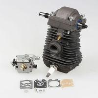 New Cylinder Piston Crankshaft for STIHL Chainsaw 023 025 MS230 MS250 with Carburetor + Carb rebuild kit