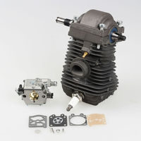 New Cylinder Piston Crankshaft For STIHL Chainsaw 023 025 MS230 MS250 With Carburetor Carb Rebuild Kit