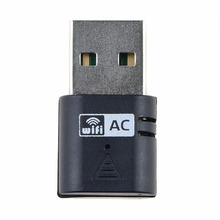 1pc New Community Playing cards USB Adapter 433Mbps 5Ghz Wi-fi AC600 Twin Band 802.11ac Adapter Wi-fi Community Connectors for Laptop computer