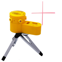 Plastic Multifunction Laser Level Leveler Tool With Tripod Useful Home Foot Level Capable Of Rotation Can