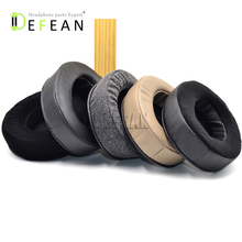 Defean 105x85mm Upgrade Memory Replacement Ear pads cushion for Brainwavz HM5 HM 5 Headphones headset
