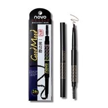Novo Eyebrow Pencil 5 Colors Eyebrow Enhancer Makeup Smudge-proof Long Lasting M