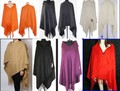 Free Shipping New Womens 100% Wool Cashmere Shawl Warm Wrap  SW21