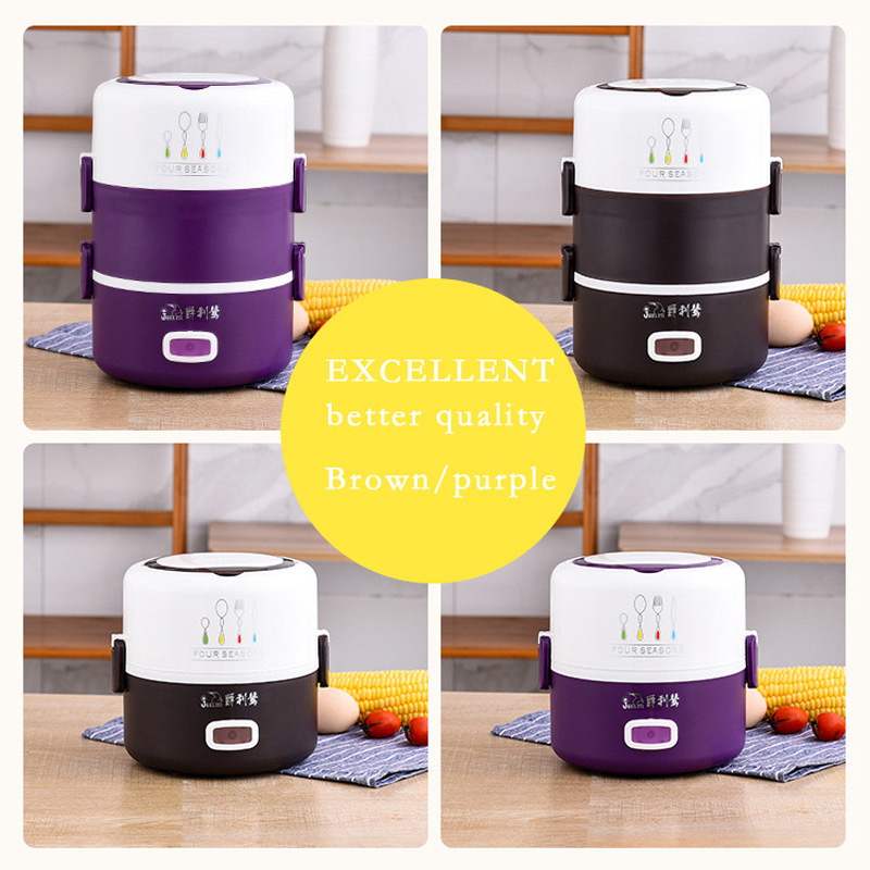 Image 5 - Portable Multifunction Electric Lunch Box Insulation Heating 