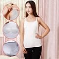 Maternity Women Nursing Camisole Padded Breastfeeding Tops Casual Summer Tank Top Vest Cotton Pregnant Strap Tops Camis 7 Colors