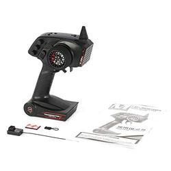 AX5S 2.4G 3CH AFHS Radio RC Transmitter with Receiver Super Active Passive Anti-jamming for RC Car Boat