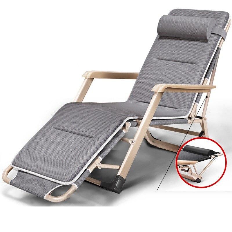Moveis tumbona Playa Chair Exterieur Mueble Cama Plegable Outdoor Folding Bed Garden Furniture Salon De Jardin Chaise Lounge