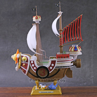One Piece Monkey Luffy Thousand Sunny & Meryl Boat Pirate Ship cool figure model toy for friends gift