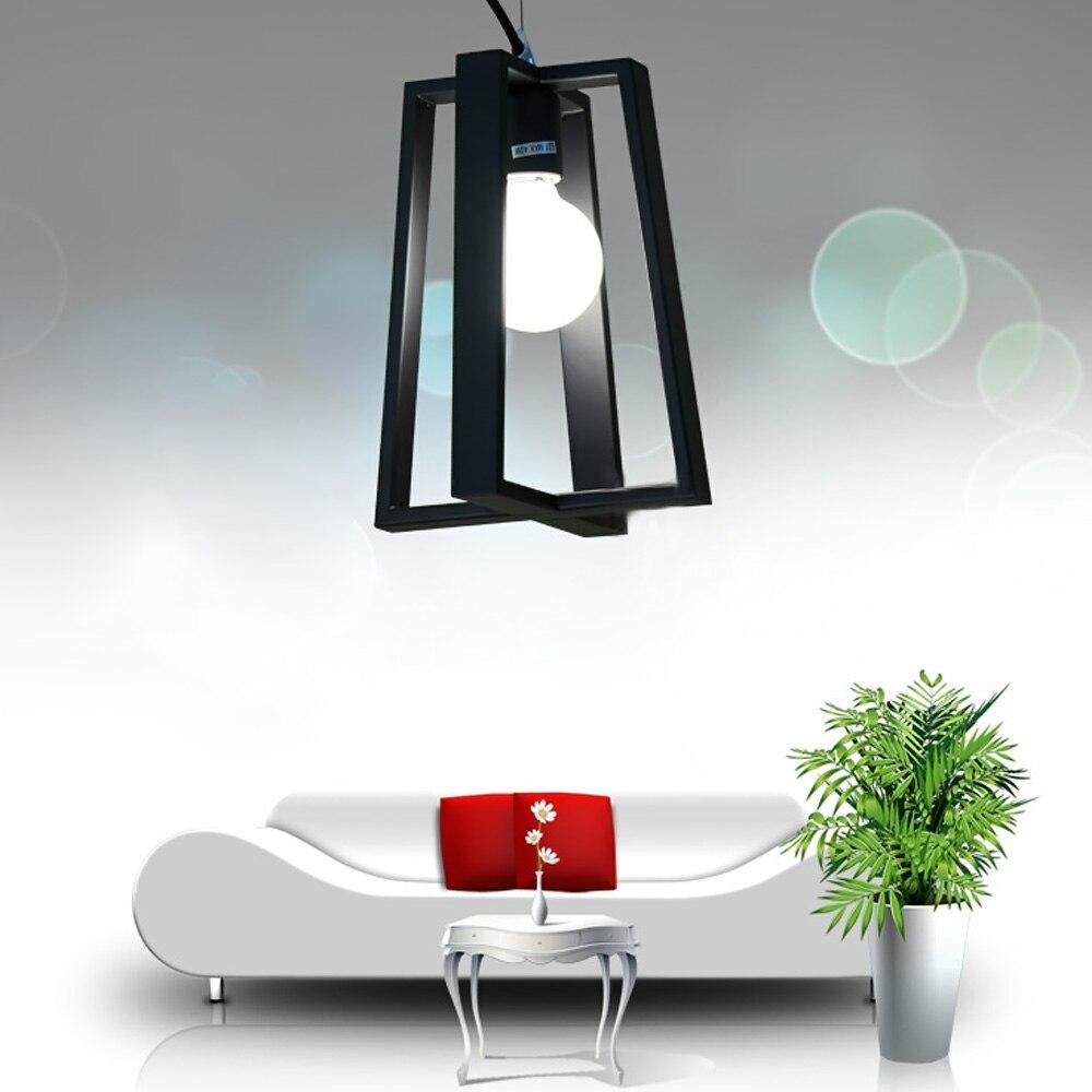Rétro américain chambre salon moderne minimaliste créative café village art déco design lumière lustre pendentif lampe