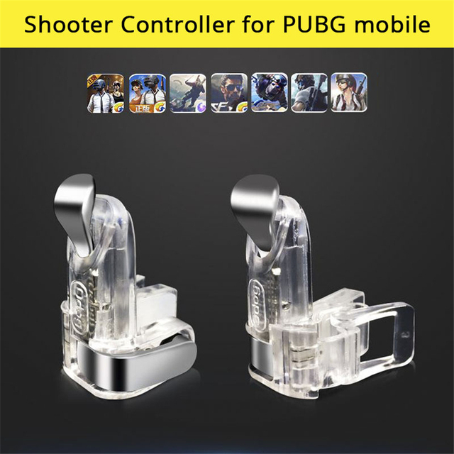 Joystick for Pubg Mobile 1 Pair Left Right Controller Joystick for Cellular Phone Gaming Trigger Fire Button Gamepad for phone
