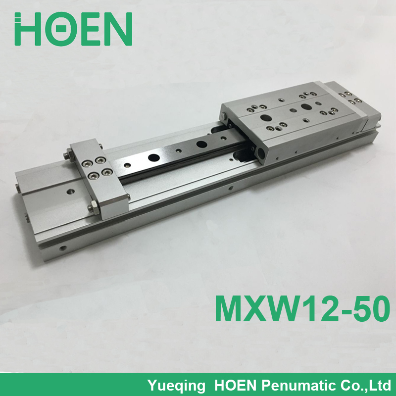 MXW 12-50 Slide Cylinder Air Slide Table Series MXW SMC cylinder pneumatic air cylinder High quality mgpm63 200 smc thin three axis cylinder with rod air cylinder pneumatic air tools mgpm series mgpm 63 200 63 200 63x200 model