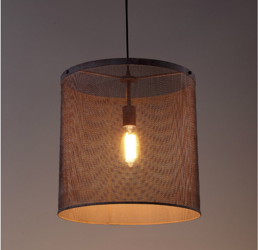 Фото Loft style Industry Net Single-head Vintage industrial pendant lighting lamp fixture Dining Room/Restaurant. Купить в РФ