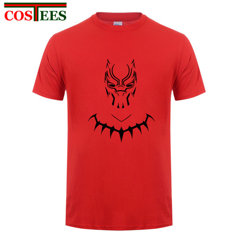 04e785846 Black Panther T Shirts Captain hombre America T shirts Avengers iron cool  man tshirt Africa Wakanda King Hipster Tops Retro Tees-in T-Shirts from  Men's ...