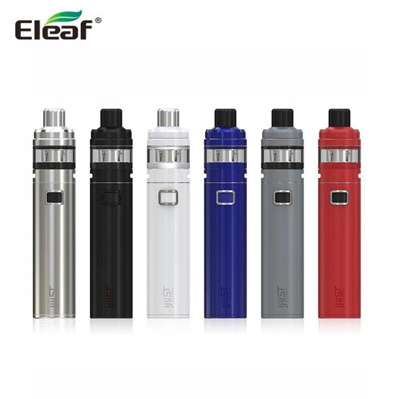 Originale Eleaf iJust NexGen Kit 3000 mah Batteria con 2 ml Serbatoio iJust Nex Gen Starter Kit Max 50 W con HW1 coil testa E-sigarette