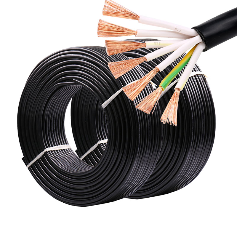 4M RVV Control Cable Electrical <font><b>Wires</b></font> 6 <font><b>Core</b></font> <font><b>7</b></font> <font><b>Core</b></font> 0.5/ 0.75/ 1/ 1.5/ 2.5 MM PVC Insulated Extension Copper <font><b>Wire</b></font> image